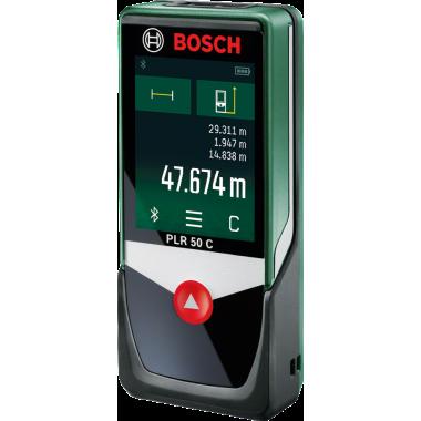 Лазерная рулетка Bosch PLR 50 C