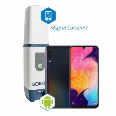 Комплект для RTK Sokkia GCX3 со смартфоном Samsung и Magnet Construct