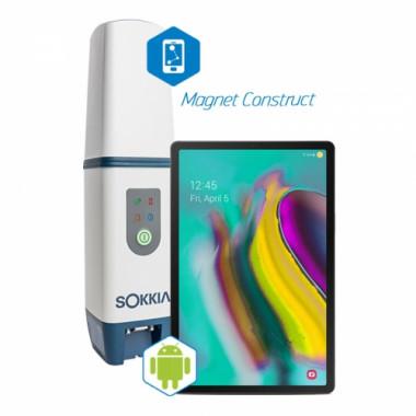 Комплект для RTK Sokkia GCX3 с планшетом Samsung и Magnet Construct