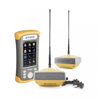 Комплект приемников Topcon Hiper VR UHF/GSM и контроллера FC-500